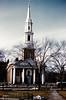 Center Church, New Haven Green<br /> Dec 1960
