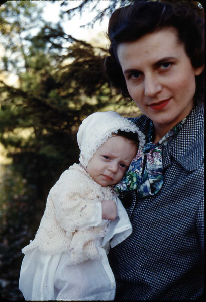 Jane at 2 1/2 months (Nov 1949)