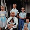 Fall 1988<br /> Meakin Family<br /> Los Altos Ward Chapel<br /> Teresa (9.5), Craig (8), Ben (4.5), Bob, Cindy (2), Daniel (6 mos), Vickie