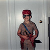 Oct. 1988<br /> 262 Marich Way, Los Altos<br /> Benny (4 1/2) trying out his costume for Halloween.
