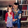 Oct. 1988<br /> 262 Marich Way, Los Altos<br /> Cindy (2) as a clown and Craig (7 1/2) as a Battle Beast.