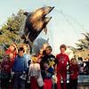 Feb. 1991<br /> Marine World<br /> Gardner & Meakin kids