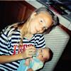 May 1991<br /> 124 Nantucket Cir., Vacaville<br /> Teresa (12) & Steven (about 3 weeks old)