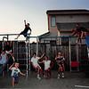 Aug. 17, 1992<br /> 208 Nantucket Cir., Vacaville<br /> Dangerfield's backyard<br /> L to R--Kyrie, Cindy,  Daniel, Westin, Bonnie, Teresa, Steven, Craig, Matt &  Ben