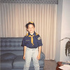 Jan. 1991<br /> 124 Nantucket Cir., Vacaville<br /> Ben's  ready for his first cub scout meeting (8 yrs. old)
