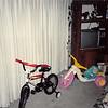 Dec. 25, 1992<br /> 124 Nantucket Cir., Vacaville<br /> Christmas Day<br /> Daniel's new bike & Cindy's new hot wheels