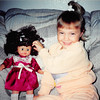 Nov. 1, 1992<br /> Kyrie Dangerfield (4) and her new doll on her birthday