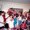 July 1994<br /> 4th of July celebration at Spencers, San Marino, CA<br /> cousin chorus