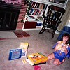 July 1994<br /> Cindy's 8th Birthday<br /> showing gifts from friends