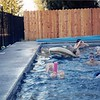 Summer 1995<br /> Murray's pool in Brentwood, CA<br /> Mary, Daniel, Ben, Ryan, Bob & Darsi