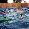 Summer 1995<br /> Murray's pool in Brentwood, CA<br /> Craig, Darsi, Michael Ryan, Teresa, Ryan,  Daniel, Bob & Cindy