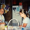 July 1995<br /> 262 Marich Way<br /> Bob and Teresa making gyoza