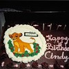 July 1995<br /> Cindy's birthday cake --age 9