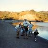 July 1995<br /> Steven's Creek dam<br /> Teresa, Steven, Cindy, Bob, Ben, & Daniel