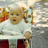 Sept. 1979<br /> Teresa (6 months) near Timp cave, Utah.
