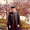 April 18, 1980<br /> Bob after commencement exercises at Marriott Center.