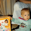 Christmas morning 1979 at 5 a.m.<br /> Tustin, CA<br /> Teresa and a new toy.