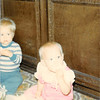 Nov. 1979<br /> Thanksgiving at Bruce's in Fountain Valley, CA.<br /> Wes Cardall & Teresa (9 months)