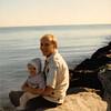 Christmas 1979<br /> Newport Beach, CA<br /> Teresa (10 months) & Bob