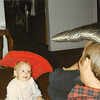 January 1980<br /> 1104 W. 680 S., Orem, UT<br /> Teresa (11 months) playing with daddy.