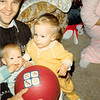 Christmas morning 1979<br /> Tustin, CA<br /> Jerry M., Teresa (10 months) & Christy Tate