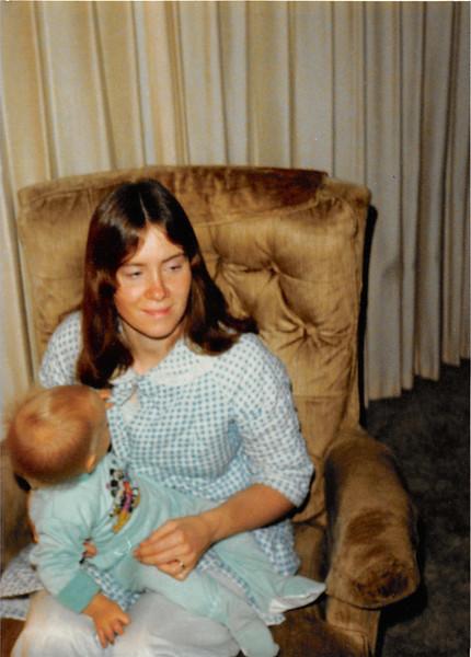 Christmas morning 1979 at 5 a.m.<br /> Tustin, CA<br /> Teresa (10 months) & Vickie