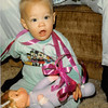 Christmas morning 1979 at 5 a.m.<br /> Tustin, CA<br /> Teresa and her new doll.