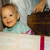 Christmas morning 1979 at 5 a.m.<br /> Tustin, CA<br /> Teresa (10 months) anticipating unwrapping her present.