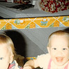 Christmas day 1979<br /> Tustin, CA<br /> Christy & Teresa eating chocolate chip cookies.