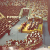 April 18, 1980<br /> Commencement exercises in the Marriott Center, Provo, UT.