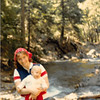 Sept. 1979<br /> Teresa (6 months) and I near Timpanogas cave, Utah.