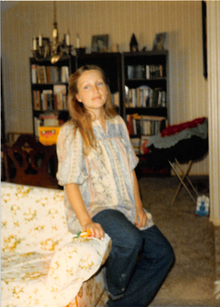 Christmas 1979<br /> Tustin, CA<br /> Maarti is 7 months pregnant with Ryan.