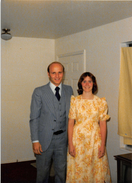 Oct. 1979<br /> 1104 W. 680 S., Orem, UT<br /> Before Homecoming dance--Bob & Vickie