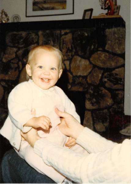 January 1980<br /> 1104 W. 680 S., Orem, UT<br /> Teresa (11 months) and me
