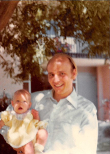 August 1979<br /> Wymount Terrace (outside), Provo, UT<br /> Teresa & Bob