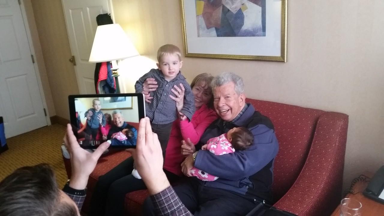 Papa Carlos and Gramma Karleen