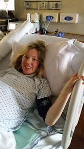 Melanie's in labor!