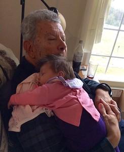 Papa Carlos and Alexandra