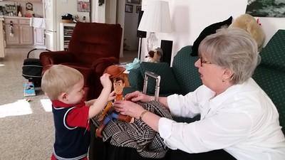 Grandma visit
