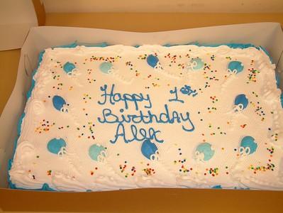 Alex - First Birthday