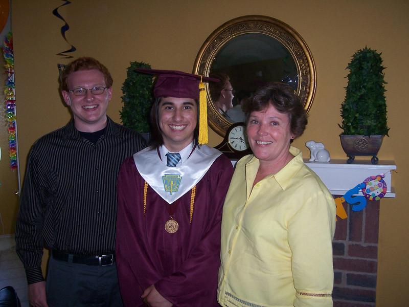 Alex, Patrick and Mary O'Brien