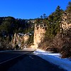 Spearfish Canyon Scenic Byway.  A very pretty drive on the North end of the Black Hills