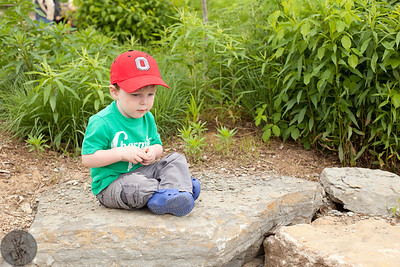 Having fun at the Lexington Children's Garden at the UK Arboretum