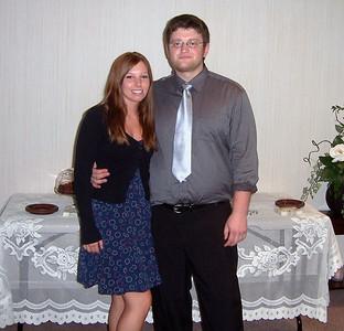 Alex & Britt at Ian & Glenn's wedding - 2010