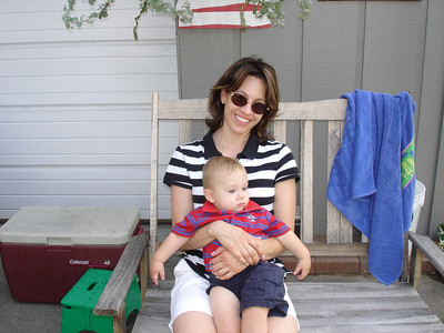 Auntie Dianna and Lincoln