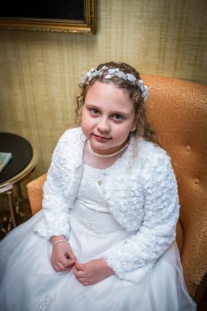 Alexandra {first communion}