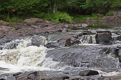 Rapids on Oxtongue River above Ragged Falls