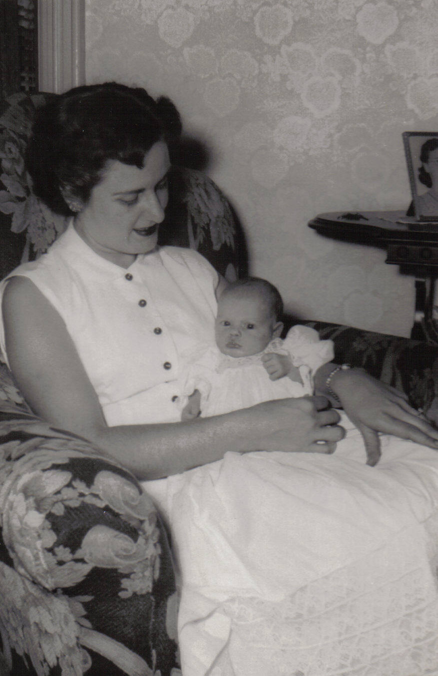 That is me ( Cheryl), with my Godmother, cousin Doris Beaucage Boucher.