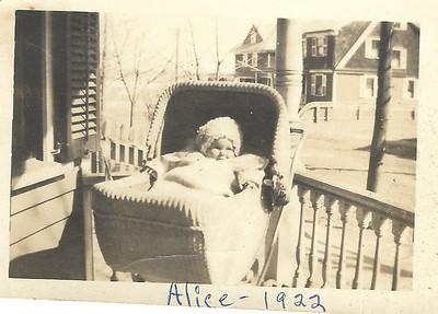 baby alice 1922