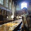 Sala de Jantar que aparece no filme de Harry Potter...